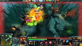 Dota 2: Пексик играет за Фундаментала (Chaos Knight), бой 2 из 2 - loss