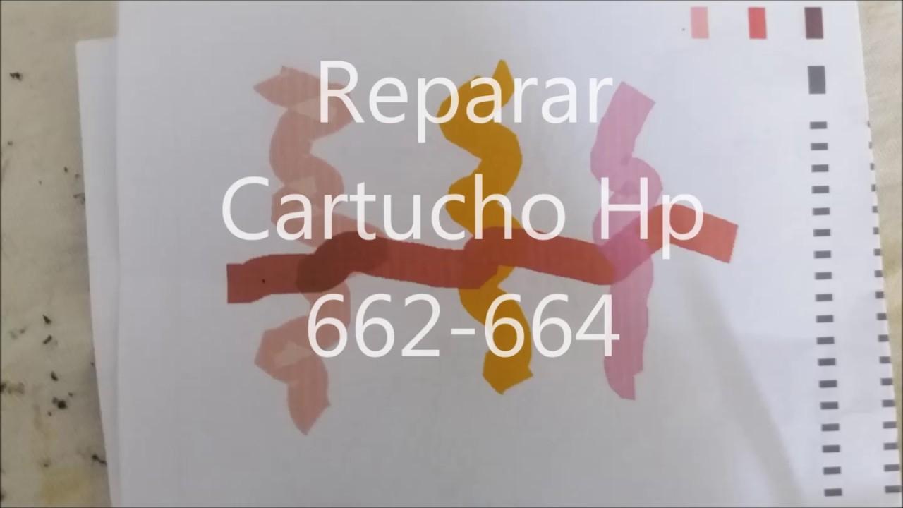 Reparar Cartucho Hp 662 664 Funnydog Tv