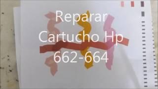 Reparar cartucho HP 662-664
