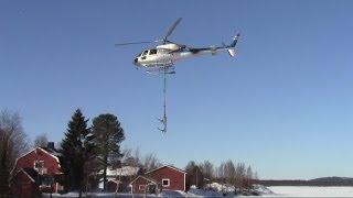 SE - HJP - Eurocopter AS 350 B3 Ecureuil Take off