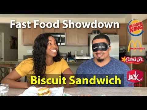 Blind Taste Testing: Fast Food Breakfast Biscuits