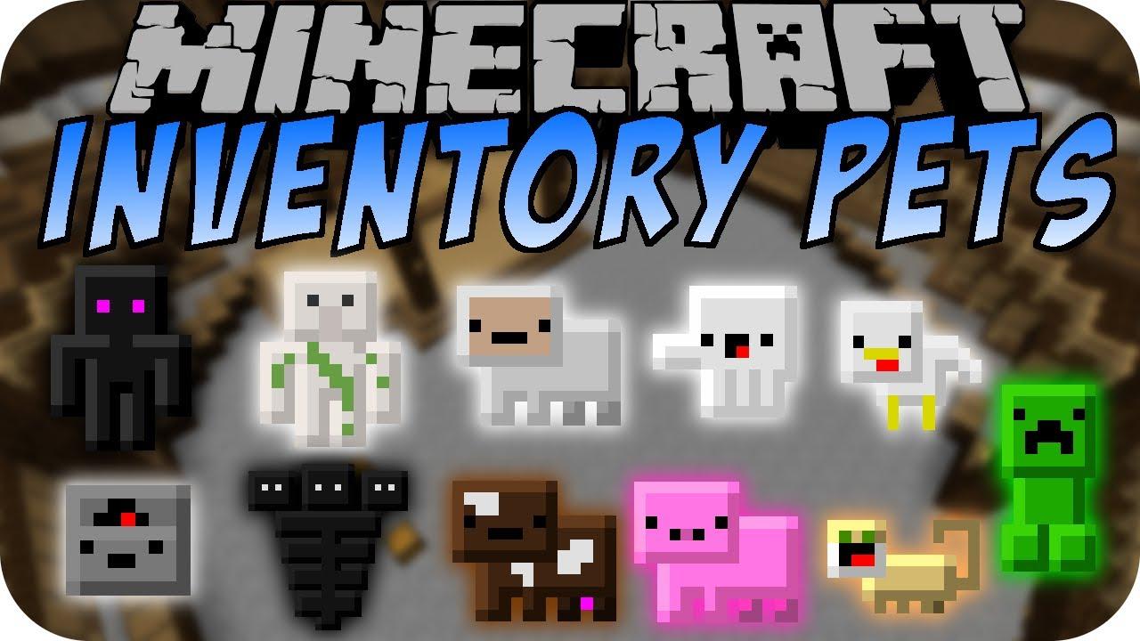 Minecraft Inventory Pets Mod Teil 1 - YouTube