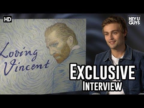 Douglas Booth  Loving Vincent Exclusive