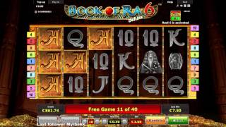 Book of Ra Deluxe 6  - Mega Win -  Jackpot
