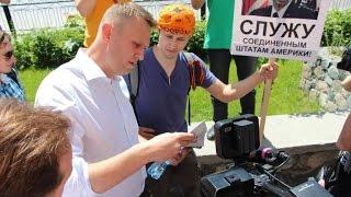 Навальный в Сибири