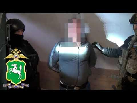 """Задержание """"вора в законе"""" в Томске"""