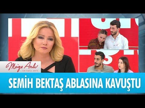 Semih Bektaş ablasına kavuştu - Müge Anlı İle Tatlı Sert 20 Kasım 2018