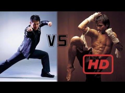 Jetli vs Ong bak (Tony jaa) - Best highlight Kungfu movies - Jet li action movies