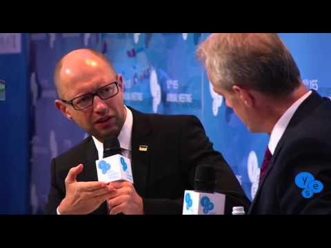 Arseniy Yatsenyuk VS Stephen Sackur