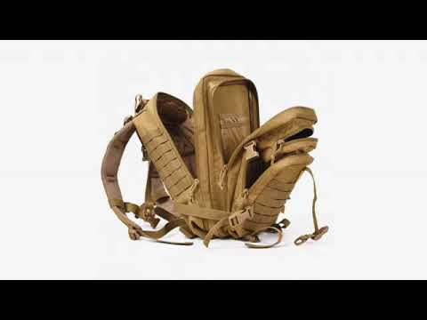 Military Tactical Backpack Large Army Assault Pack Molle Bug Out Bag Camping
