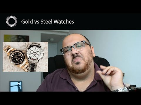 Gold Vs Steel Watches - Pros And Cons - Federico Talks Watches