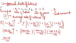 #20, Business Statistics | Combined Geometric Mean & Applications of Geometric Mean