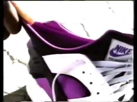 558773c26da1b Nike Air Huarache Commercial with Michael Johnson (1992) - YouTube