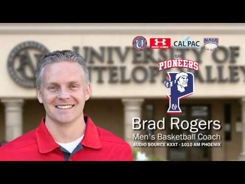 Radio Interview with UAV Men's Basketball Coach Brad Rogers