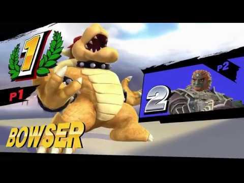 Super Smash Bros. For Wii U - Kenny James Bowser Voicepack Update 2.0