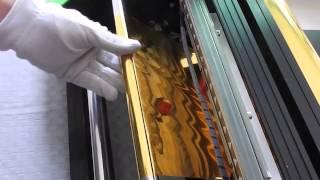 Amydor 360 digital hot foil ribbon printer on sale in China