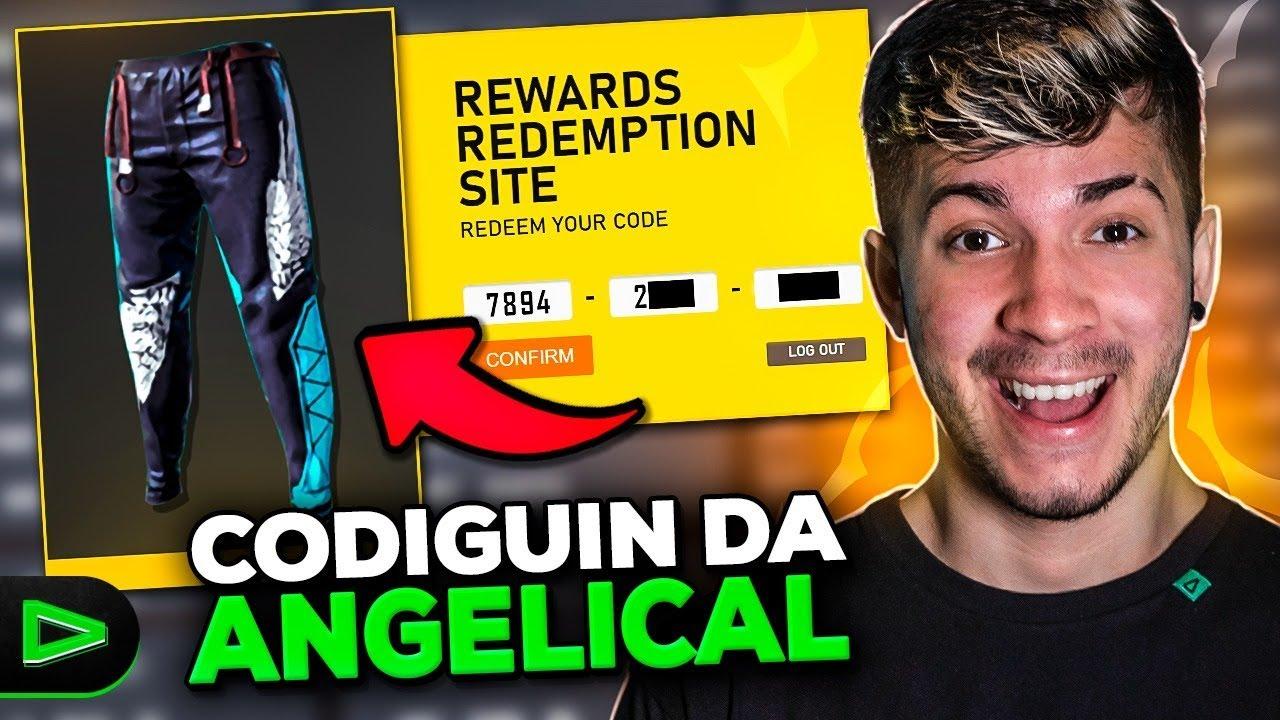💚 CODIGUIN DA ANGELICAL!!!!!! LOUD EMULADOR!! 🔴 FREE FIRE - AO VIVO! LOUD LZINN!