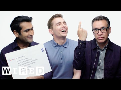 Dave Franco, Kumail Nanjiani and Fred Armisen Answer the Web's Most Searched Questions  WIRED