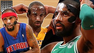 Where Does Kyrie Irving's Mask Rank in the NBA?