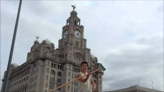 デッキブラシ特技 deck brush special skillイギリスリバプール UK Liverpool