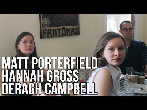 Matt Porterfield Deragh Campbell & Hannah Gross Interview - The Seventh Art