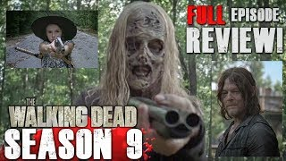 The Walking Dead Season 9 Mid-Season Premiere - Adaptation - Full Video Review!
