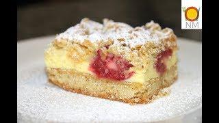 Этот пирог удивит даже искушенного гурмана!Вкуснейший тертый пирог с воздушным суфле и малиной.