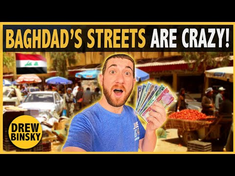 What Can $10 Get in BAGHDAD, IRAQ? (Insane Trip)