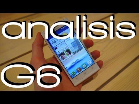 Huawei Ascend G6 (gama media, buen precio) - Analisis a fondo en español