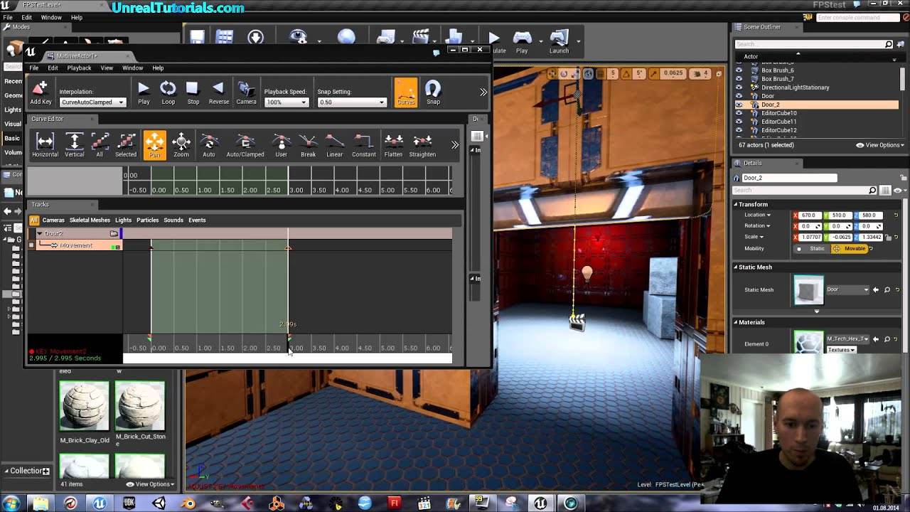 Unreal engine 4 tutorial open close door with triggers and matinee unreal engine 4 tutorial open close door with triggers and matinee malvernweather Choice Image