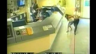 Shocking police brutality caught on CCTV