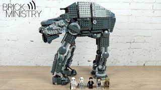 Обзор LEGO 75189 Star Wars ● Тяжелый Осадный Шагоход Первого Ордена