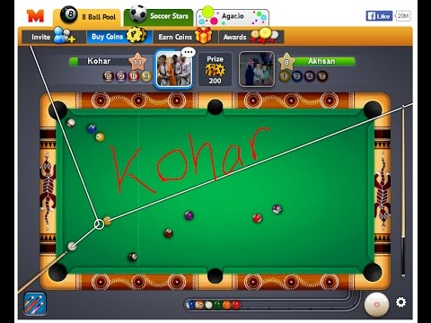 Cheat 8 ball pool garis panjang pc terbaru