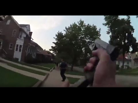 GRAPHIC: Bodycam captures police killing of unarmed teen Paul O'Neal in Chicago