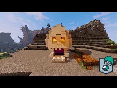 Minecraft Tutorials Ep #7 - Nether Portal Skull