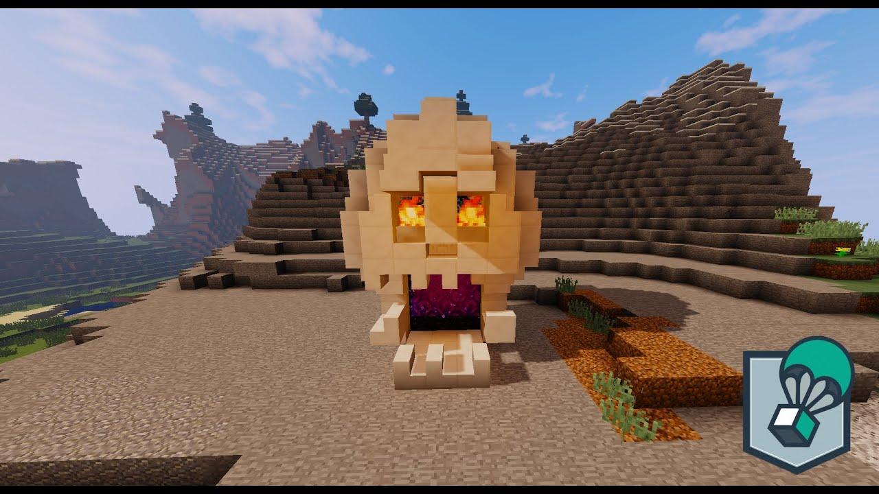 Minecraft tutorials ep 7 nether portal skull youtube for Portale design