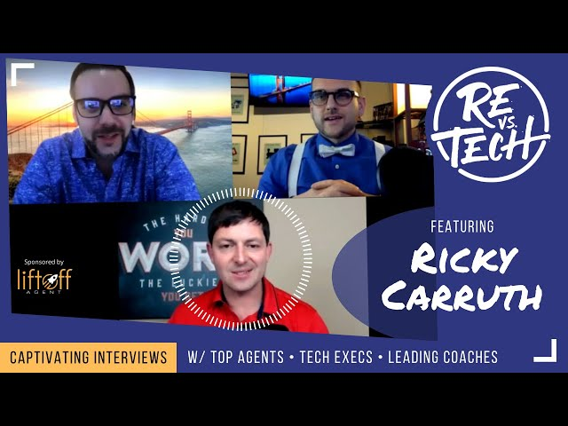 Real Estate Vs Tech with Ricky Carruth!! Episode 009