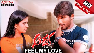 Feel My Love Video Song || Aarya Video Songs || Allu Arjun, Anuradha Mehta
