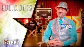 Manolito Pies de Plata, el ventilador humano | Audiciones 1 | Got Talent España 2017