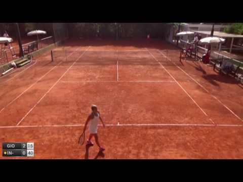 Giovine Claudia v In-Albon Ylena - 2016 ITF Santa Margherita Di Pula