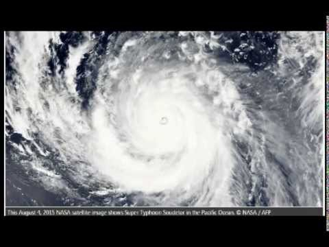 Warning! Massive Super Typhoon Soudelor Headed for Japan and Tiawan! Warning!