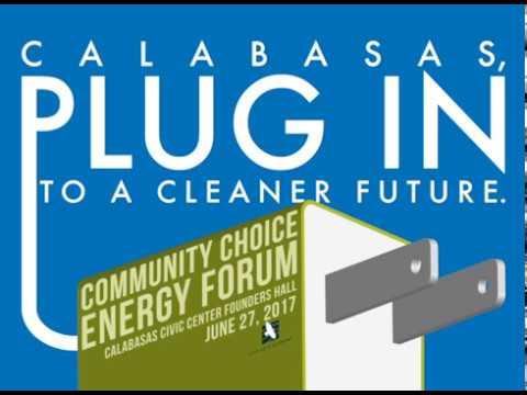 Calabasas Community Choice Energy Forum
