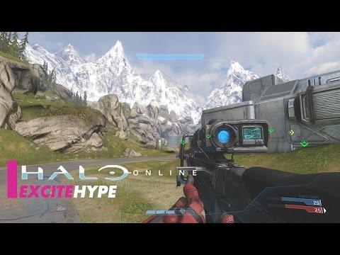 Halo Online (PC) - Multiplayer Gameplay - VideoRuclip