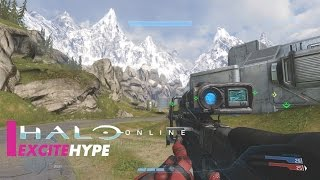 Halo Online (PC) - Multiplayer Gameplay