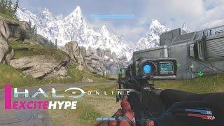 Halo Online (PC) - Multiplayer Gameplay