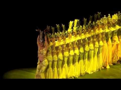 11 Chinese Culture Dance thousand hand of guan yin performed