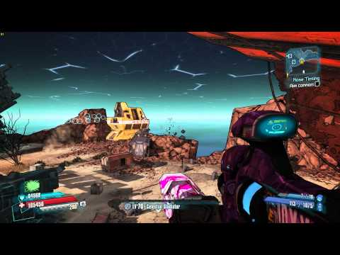 Borderlands The Pre Sequel - Rose Tinting - Claptastic Voyage DLC