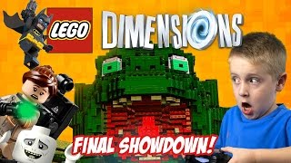 Final Showdown! The LEGO Batman Movie Story Pack Level 6! Let's Play LEGO DIMENSIONS