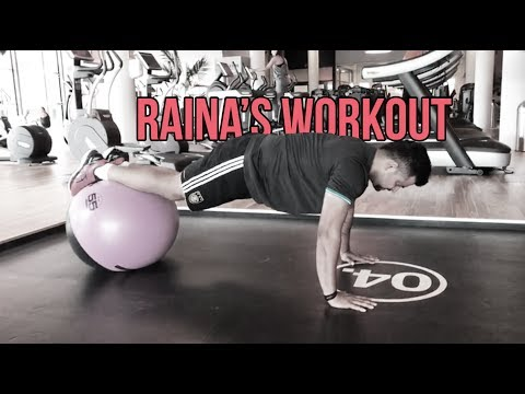 Away From Cricket, Suresh Raina Works Hard On His Fitness