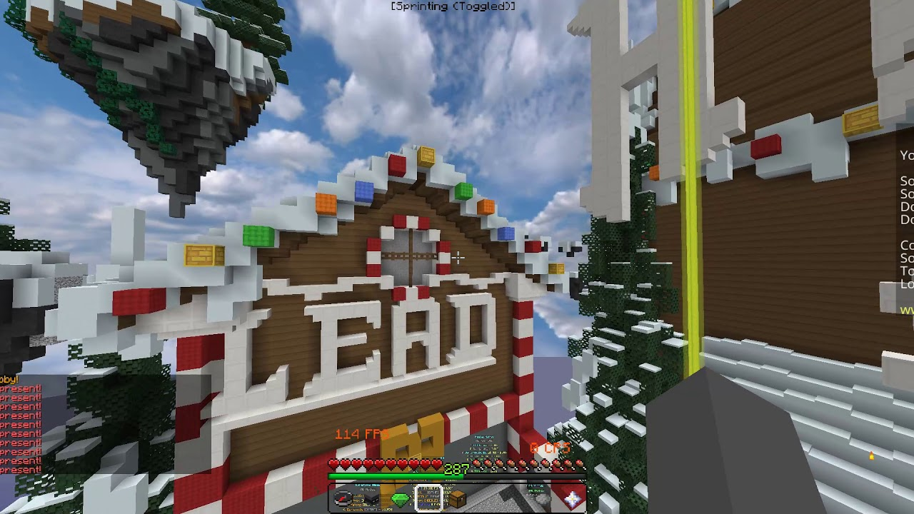 Hypixel Christmas Presents 2020 Hypixel Christmas Presents 2019 // (Skywars) ALL LOCATIONS   YouTube